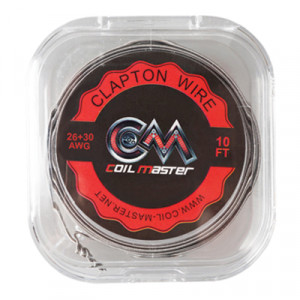 Coil Master Clapton Wire 26/30G Wire 10ft